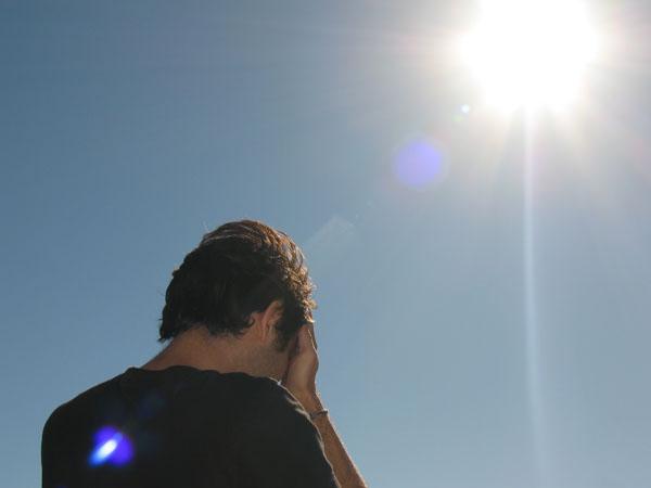 خورشید هم میتواند کورکننده باشد